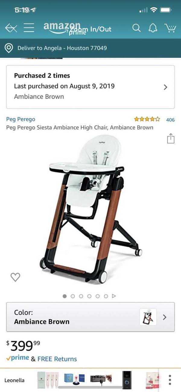 Peg Perego Siesta Ambiance High Chair