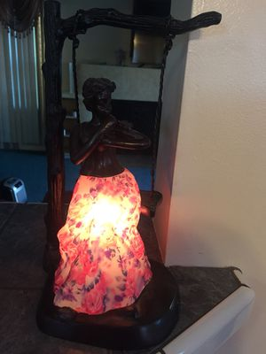 Antique stained glass lamp for Sale in Dearborn, MI