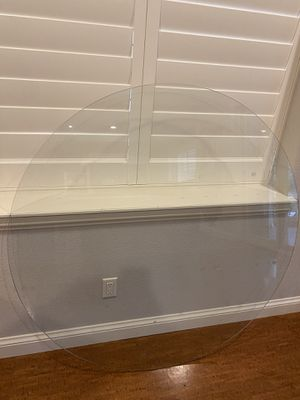 """52"""" Glass Table Top 1/4"""" thick high quality for Sale in Golden, CO"""