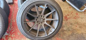 2 17 inch rims and tires for Sale in San Diego, CA