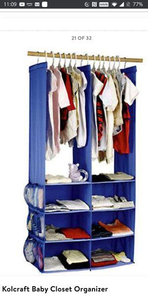 Kolcraft closet organizer for Sale in Redmond, WA