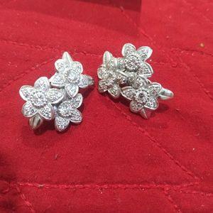 BARRY KIESELSTEIN 18k GOLD Diamond Earrings , Full Mark for Sale in Weston, FL