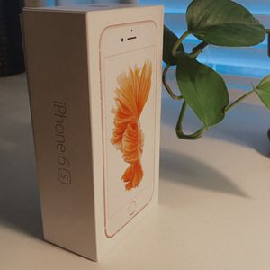 iPhone 6s Rosegold - BOX ONLY for Sale in San Marcos, CA