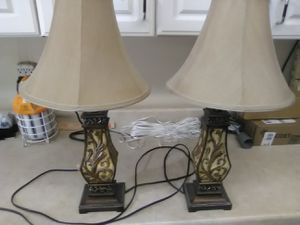 Lamps for end table for Sale in MAYFIELD VILLAGE, OH