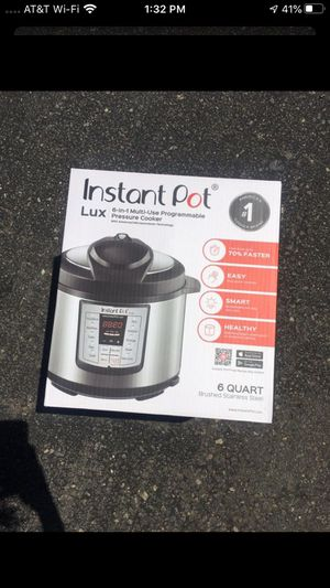 NEW 6 quart, 6-in-1 instant pot. Never opened for Sale in Carlsbad, CA