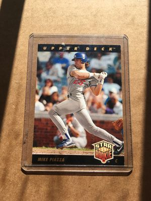 Rare Upper Deck LA Dodgers Mike Piazza Star Rookie for Sale in Covina, CA