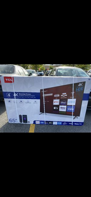 TCL 65 inch brand new for Sale in Raleigh, NC