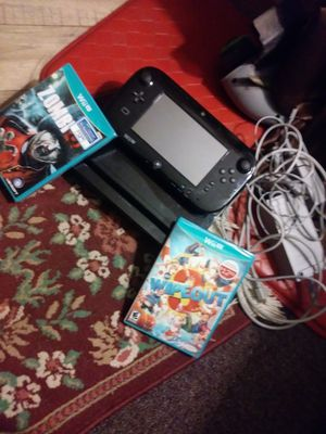 Nintendo wii u for Sale in Clinton Township, MI