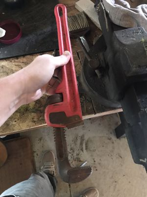 9 inch pipe. Wrench for Sale in Salt Lake City, UT