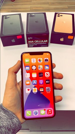 iPhone 11 Pro Max 64GB Factory Unlocked / ATT T-Mobile Verizon Sprint Starting @ for Sale in Arlington, TX