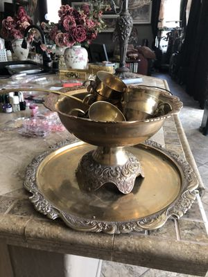 Punch Bowl Set for Sale in Gilbert, AZ