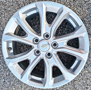 """( 17"""" INCH ) _____5x115 ____ FITS : OLDER CHEVY IMPALA , CADILLAC ATS , DTS , SEVILLE , DEVILLE , BUICK LACROSSE ,, REGAL ,, PARK AVE for Sale in Houston, TX"""