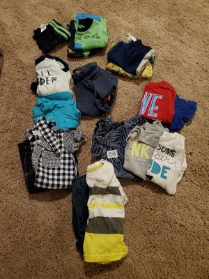 Boy Clothes 6-9/12 month & Diaper Jeanie Refill Bags for Sale in Derby, KS