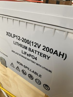 200ah lithium 12v battery for Sale in Boca Raton, FL