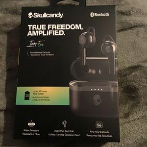 Skullcandy Indy Evo True Wireless Earbuds Black for Sale in Auburn, WA