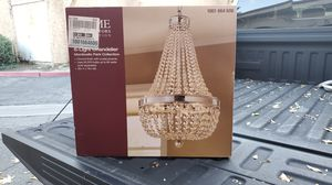 Home Decorators Collection Monticello Park Chrome Crystal Chandelier for Sale in Covina, CA