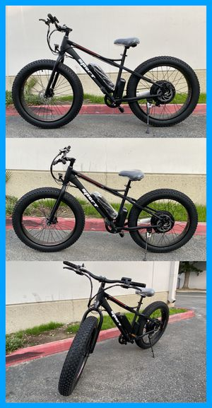 Electric Bike w/ Fat Offroad Tires Brand New In Box Ebike for Sale in Chino, CA