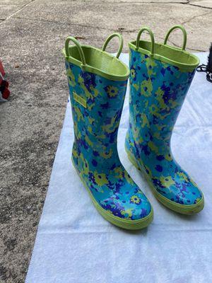 L.L. Bean rain boots (kids size 3) for Sale in Arlington, VA