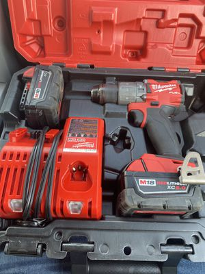 M18 hammer drill fuel 5.0 and 3.0 battery for Sale in Indianapolis, IN