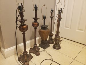 Table lamps & shades for Sale in Orlando, FL