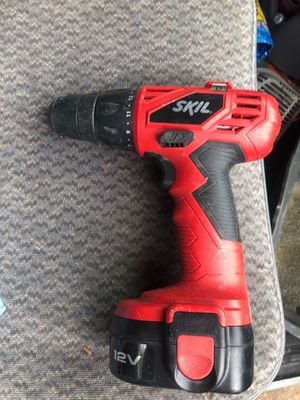 SKIL BRAND DRILL AND BATTERY BRAND NEE CHARGER WENT MISSING ASKING 20$ obo thanks for Sale in Portland, OR