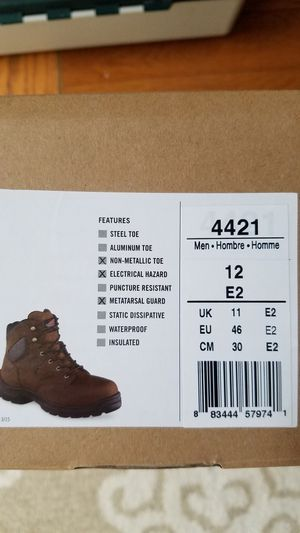 Red Wing Boots size 12 NEW for Sale in McHenry, IL
