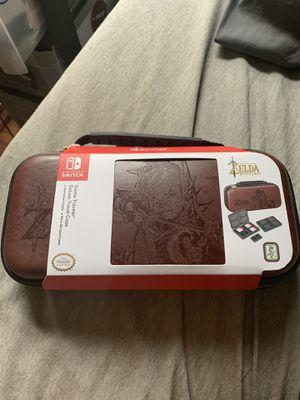 Nintendo Switch case Zelda Breathe of the Wild for Sale in Warrenton, VA