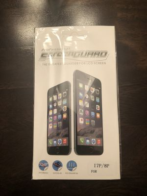 iPhone 7/8 plus screen protector for Sale in Kennewick, WA