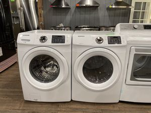 Samsung Large Capacity Washer and Gas Dryer Set 💥TAKE HOME FOR ONLY $39 NO CREDIT OK!💥 for Sale in Corona, CA