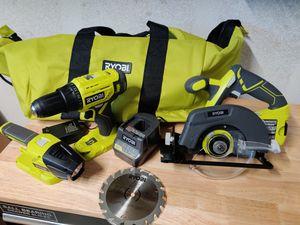 New Ryobi 18v combo tool kit for Sale in Fowler, CA