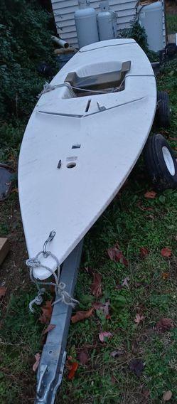 Minifish Sailboat. Or trailer For Sale $350 Ea. for Sale in Fredericksburg,  VA