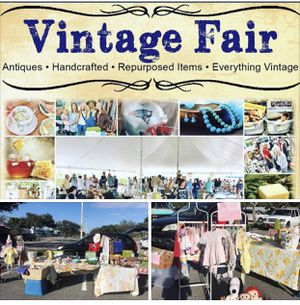Vintage fair Saturday clothing women's kids Pyrex antiques toys etc for Sale in Pompano Beach, FL