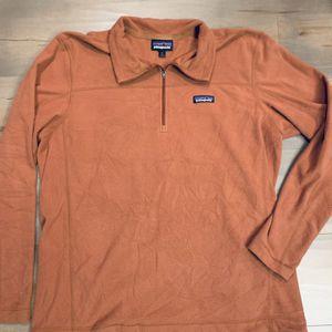 Men's Patagonia Burnt orange fleece for Sale in Sandy, OR