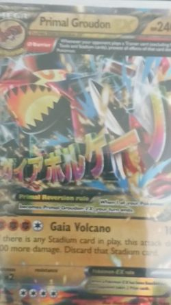 Mega Primal Groudon EX for Sale in Yakima,  WA