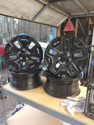 """Jeep 17"""" wheels for Sale in Roman Forest, TX"""