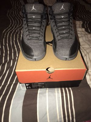Air Jordan 12 retro wool for Sale in Houston, TX