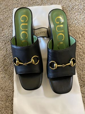 Gucci mules size 6.5 /7 for Sale in San Francisco, CA