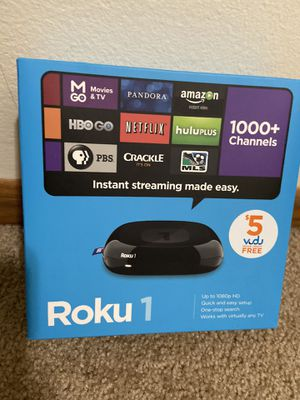 Roku 1 streaming player for Sale in Saint Paul, MN