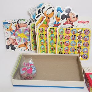 Vintage 90s Milton Bradley Mickey's Stuff for Kids Bingo Your Child's First Game for Sale in Brookfield, IL