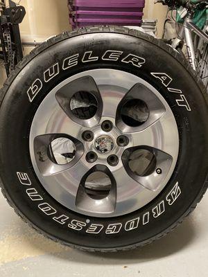 Jeep Bridgestone Wheels & Tires P255/70R18 for Sale in Issaquah, WA