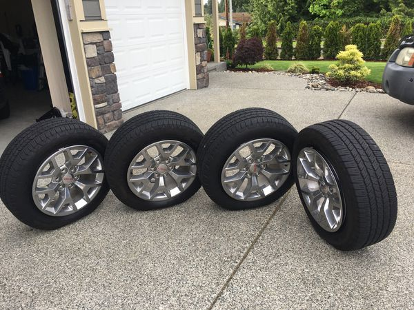 GMC tires 20 inch diameter P275/55R20