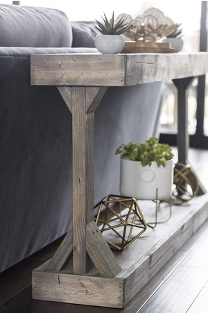 New!! Table, console table, solid wood rustic console sofa table, side table, end table, entrance table, entrance furniture, living room furniture for Sale in Phoenix, AZ