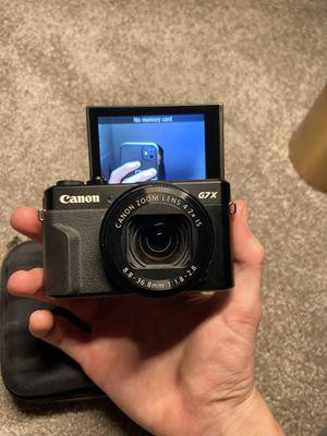 Canon g7x mark ii for Sale in Laguna Beach, CA