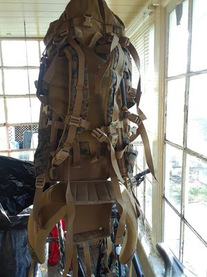 200 lb Capacity Military Backpack for Sale in Detroit, MI
