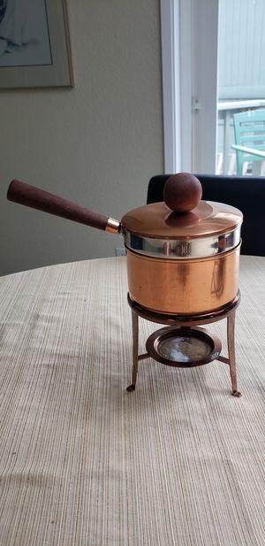 Vintage copoer fondue pot for Sale in Auburn, WA