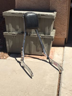 Motorcycle back rest for Sale in Phoenix, AZ