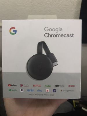 Google chromecast for Sale in Roseville, CA