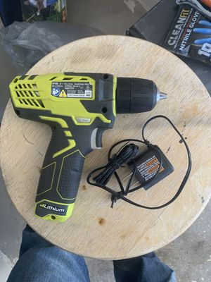 Ryobi 12v drill and charger for Sale in Phoenix, AZ
