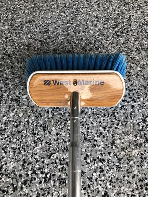 West Marine Admiral deck brush for Sale in Ontario, CA