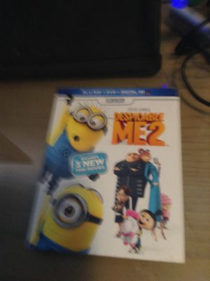 Blu Ray Steve Carell despicable me 2 for Sale in Hialeah, FL